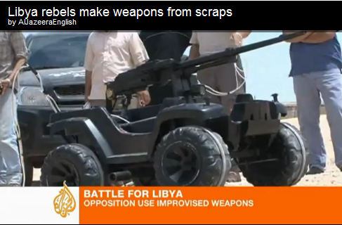 Libyan DIY Weapons